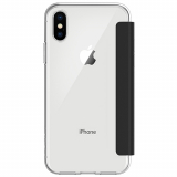 Apple iPhone Xs/X Incipio NGP Folio Series Case - Clear/Black