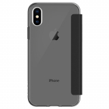 Apple iPhone X Incipio NGP Folio Series Case - Smoke/Black