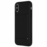 Apple iPhone X Incipio Stowaway Series Case - Black