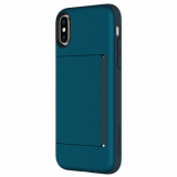 Apple iPhone X Incipio Stowaway Series Case - Navy