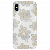 Apple iPhone X Incipio Design Classic Series Case - Beaded Floral