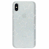 Apple iPhone X Incipio Design Classic Series Case - Glitter Star Cut Out
