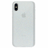 Apple iPhone X Incipio Design Classic Series Case - Iridescent White Glitter