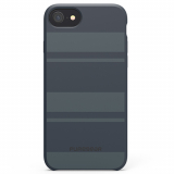 Apple iPhone 7/6s/6 PureGear SoftTek Case - Midnight Blue Stripes