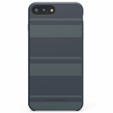 Apple iPhone 7 Plus/6s Plus/6 Plus PureGear SoftTek Case - Midnight Blue Stripes