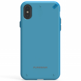 Apple iPhone X PureGear Slim Shell Case - Sky Blue