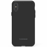 Apple iPhone X PureGear Slim Shell Case - Black/Black