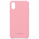 Apple iPhone X PureGear SoftTek Case - Soft Pink
