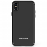 Apple iPhone X PureGear GlassBak 360 Series Case - Black