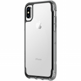 Apple iPhone Xs/X Griffin Survivor Clear Series Case - Black/Smoke/Clear