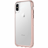 Apple iPhone Xs/X Griffin Survivor Clear Series Case - Rose Gold