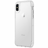 Apple iPhone Xs/X Griffin Survivor Clear Series Case - White Dust