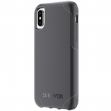 Apple iPhone X Griffin Survivor Strong Series Case - Black/Deep Grey