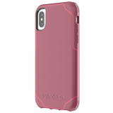 Apple iPhone Xs/X Griffin Survivor Strong Series Case - Dark Red/Red
