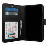 Apple iPhone X Skech Polo Book Series Case - Black