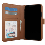 Apple iPhone X Skech Polo Book Series Case - Brown