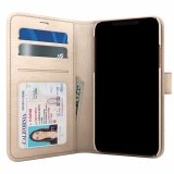 Apple iPhone X Skech Polo Book Series Case - Champagne