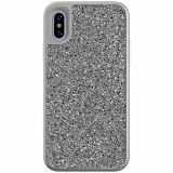 Apple iPhone X Skech Jewel Series Case - Silver