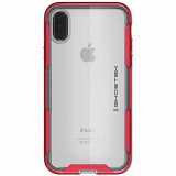 Apple iPhone X Ghostek Cloak 3 Series Case - Red