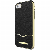 Apple iPhone 7 Rebecca Minkoff Colorblock Slider Case - Black Pebbled Leather