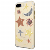 Apple iPhone 8 Plus/7 Plus Rebecca Minkoff Double Up Series Case - Glitter Galaxy
