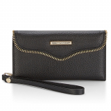 Apple iPhone 7 Rebecca Minkoff M.A.B. Tech Wristlet - Black Pebbled Leather