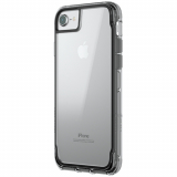 Apple iPhone 8/7/6s/6 Griffin Survivor Clear Series Case - Black/Smoke/Clear