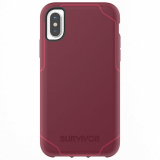 Apple iPhone 8/7/6s/6 Griffin Survivor Strong Series Case - Dark Red/Red