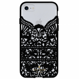 Apple iPhone 8/7/6s Kate Spade New York Lace Cage Case - Lace Hummingbird Black