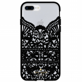 Apple iPhone 8 Plus/7 Plus Kate Spade New York Lace Cage Case - Lace Hummingbird Black
