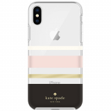 Apple iPhone X Kate Spade New York Protective Hardshell Case - Charlotte Stripe