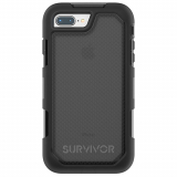 Apple iPhone 8 Plus/7 Plus Griffin Survivor Extreme Series Case - Smoke/Black