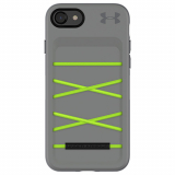 Apple iPhone 8/7/6s Under Armour UA Protect Arsenal Case -Graphite/Quirky Lime