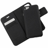 Apple iPhone 8/7 Caseco Broadway Series RFID Blocking Folio Case - Black
