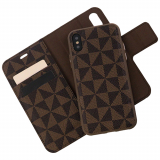 Apple iPhone X Caseco Park Ave. Series RFID Blocking Folio Case - Brown