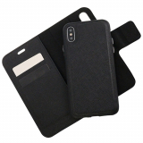 Apple iPhone X Caseco Broadway Series RFID Blocking Folio Case - Black