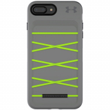 Apple iPhone 8+/7+ Under Armour UA Protect Arsenal Series Case - Graphite/Quirky Lime