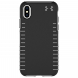 Apple iPhone X Under Armour UA Protect Grip Series Case - Black/Graphite