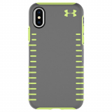 Apple iPhone X Under Armour UA Protect Grip Series Case - Graphite/Quirky Lime