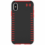 Apple iPhone X Under Armour UA Protect Grip Series Case - Black/Red