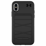 Apple iPhone X Under Armour UA Protect Arsenal Series Case - Black/Black