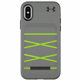 Apple iPhone X Under Armour UA Protect Arsenal Series Case - Graphite/Quirky Lime