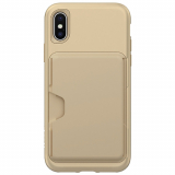 Apple iPhone Xs/X Skech Cache Series Case - Champagne