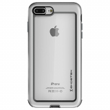 Apple iPhone 8 Plus/7 Plus Ghostek Atomic Slim Series Case - Silver
