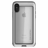 Apple iPhone Xs/X Ghostek Atomic Slim Series Case - Silver