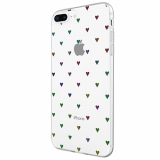 Apple iPhone 8+/7+/6s+/6+ Incipio Design Classic Series Case - Black Hearts