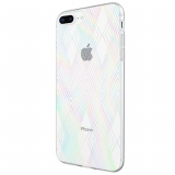 Apple iPhone 8+/7+/6s+/6+ Incipio Design Classic Series Case - Holographic Prisms