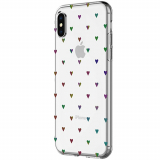 Apple iPhone X Incipio Design Classic Series Case - Black Hearts