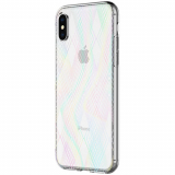 Apple iPhone X Incipio Design Classic Series Case - Holographic Prisms