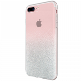 Apple iPhone 8+/7+/6s+ Incipio Design Glam Series Case - Silver Sparkler